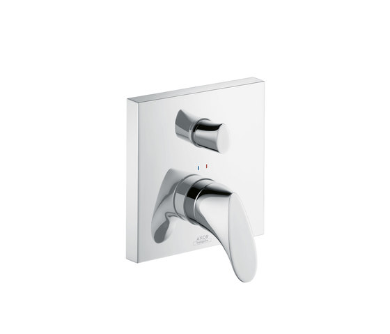 AXOR Starck Organic Single Lever Bath Mixer for concealed installation with integrated safety combination by AXOR
