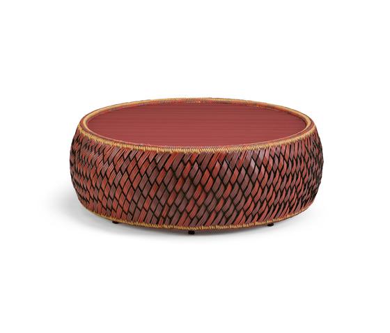 Dala Pouf / Tavolino da salotto di DEDON | Sgabelli da giardino
