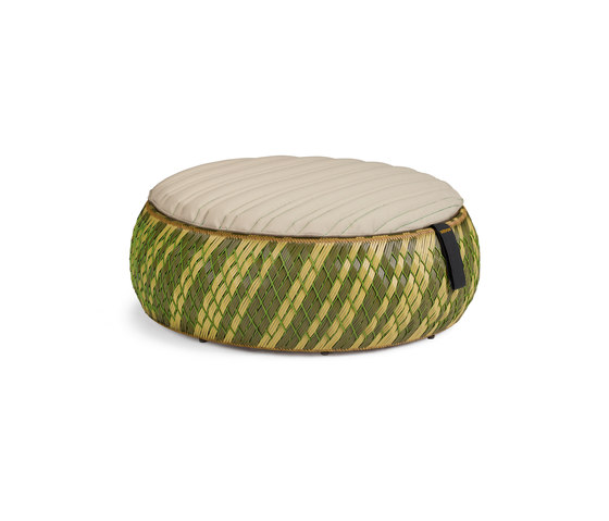 Dala Foot stool by DEDON | Poufs