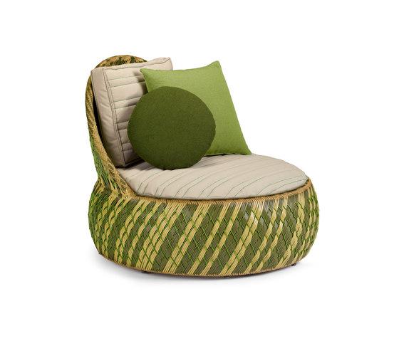 Dala Lounge chair de DEDON | Sillones de jardín