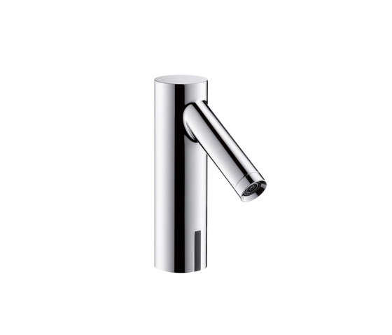 AXOR Starck Electronic Basin Mixer DN15 with 230V mains connection by AXOR | Wash-basin taps