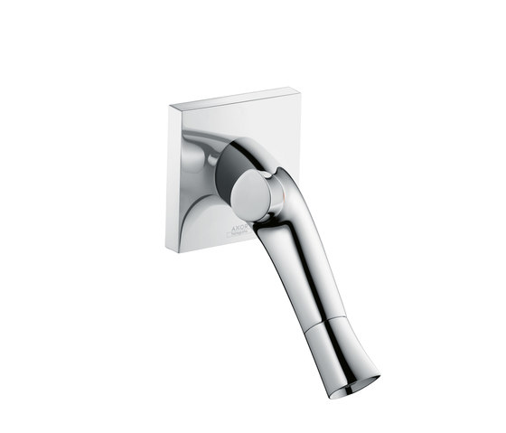 AXOR Starck Organic 2-Handle Basin Mixer wall-mounting DN15 by AXOR | Wash basin taps