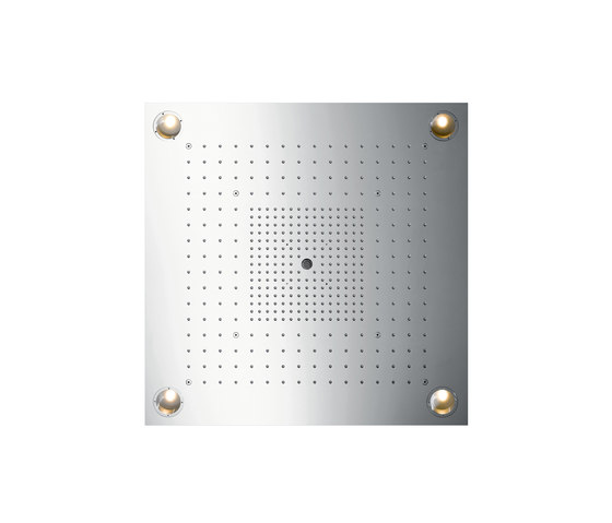 AXOR Starck X ShowerHeaven 720 x 720mm con luz de AXOR | Grifería para duchas