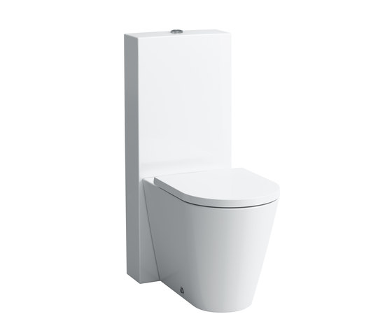 Kartell by LAUFEN | Floorstanding WC combination by Laufen | Toilets