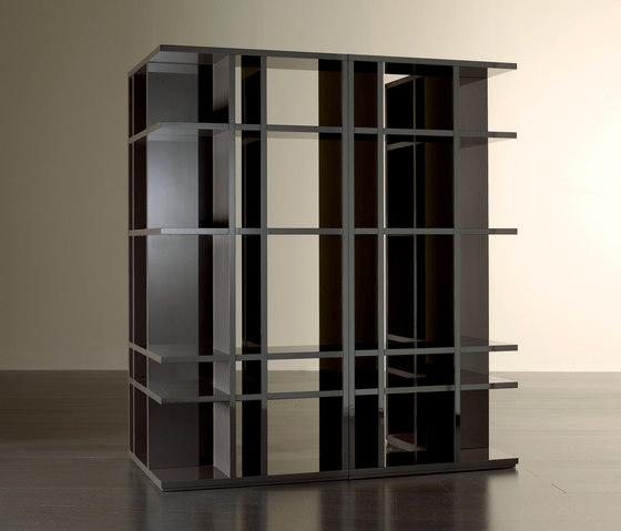 Lana Open Corner Librería de Meridiani | Sistemas de estantería