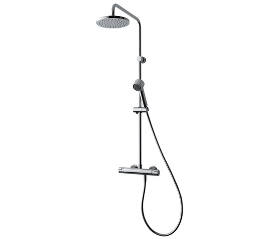 Citypro | citypro thermostatic shower mixer by Laufen | Shower taps / mixers