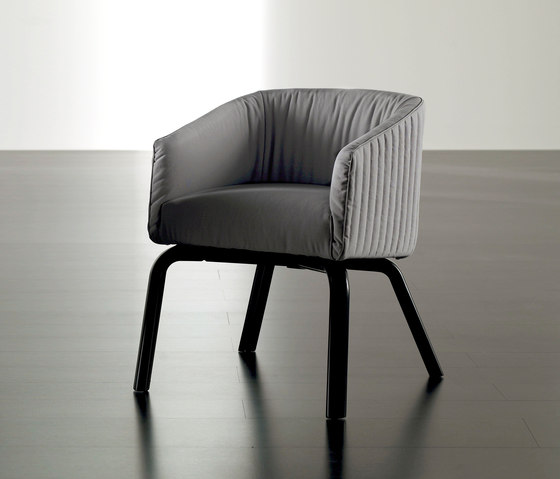 Lolyta Chair by Meridiani | Visitors chairs / Side chairs