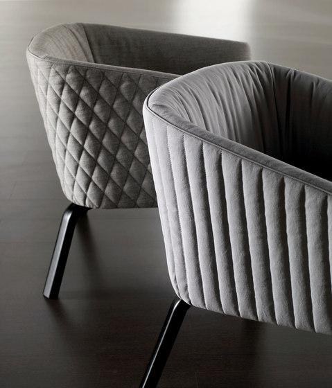Lolyta Chaise de Meridiani | Fauteuils d'attente