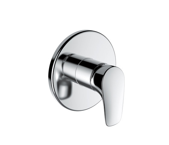 Curveplus | Pre-assembled unit by Laufen | Shower taps / mixers