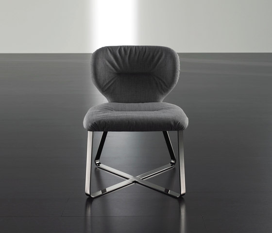 Novak Chair by Meridiani | Visitors chairs / Side chairs