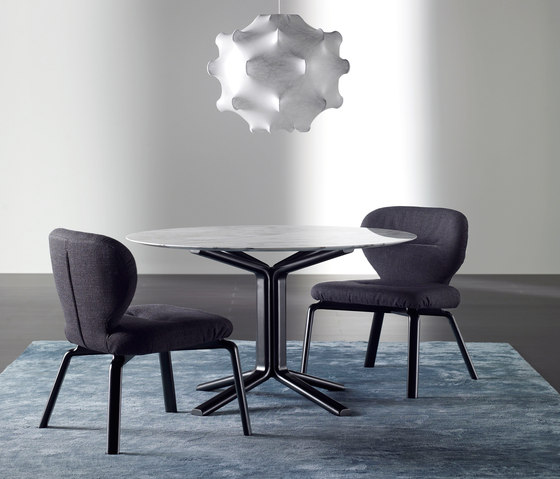 Novak Wood Chair by Meridiani | Visitors chairs / Side chairs