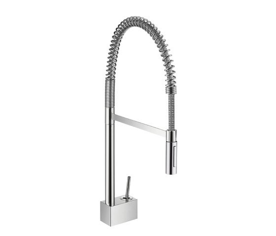 AXOR Starck X Semi-Pro Single Lever Kitchen Mixer DN15 by AXOR | Kitchen taps