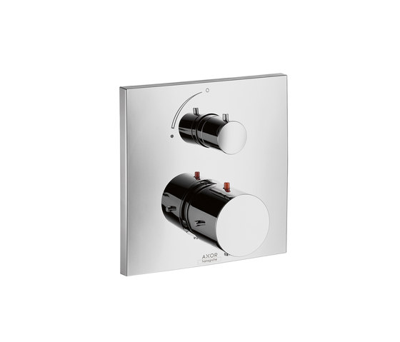 AXOR Starck X Thermostatic Mixer for concealed installation with shut-off valve by AXOR | Shower taps / mixers