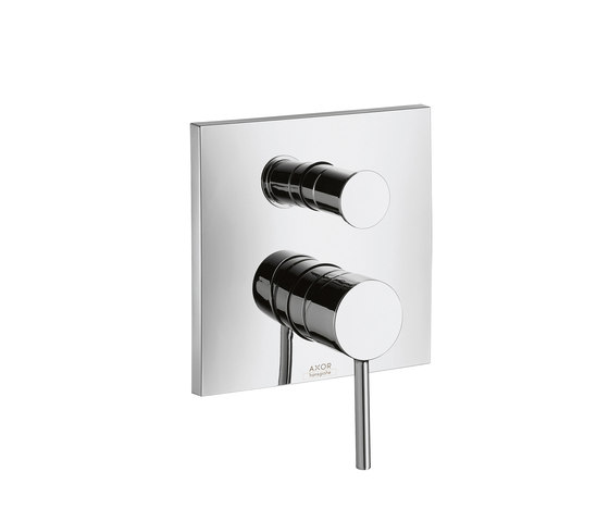 AXOR Starck X Single Lever Bath Mixer for concealed installation by AXOR | Bath taps
