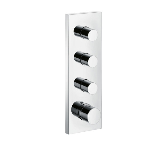AXOR Starck X Thermostat Module Finish Set 36 x 12 DN20 by AXOR | Shower taps / mixers