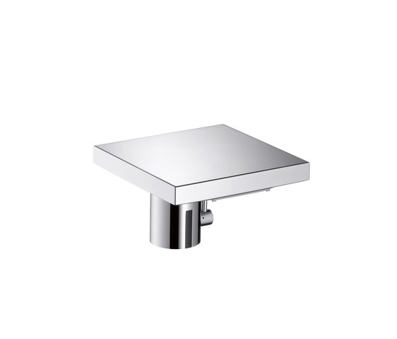 AXOR Starck X Electronic Basin Mixer with temperature control DN15 battery-operated by AXOR | Wash-basin taps