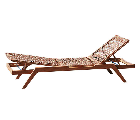 Synthesis Sun lounger by Unopiù | Sun loungers