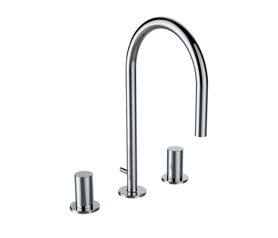 Kartell by LAUFEN | Washbasin mixer 3-hole by Laufen | Wash-basin taps