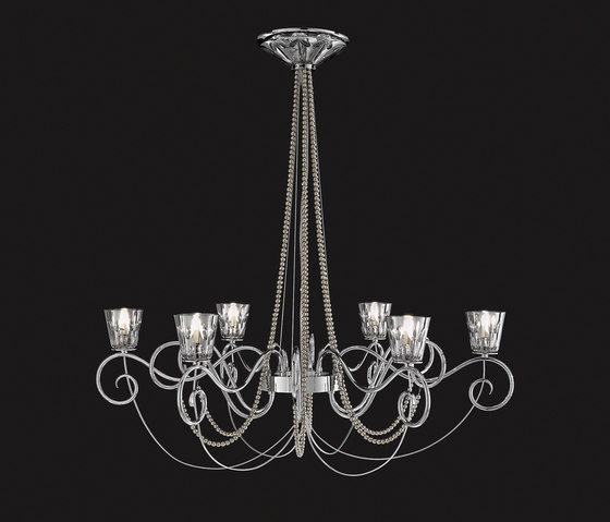 Blanche Hanging Lamp by ITALAMP | Ceiling suspended chandeliers
