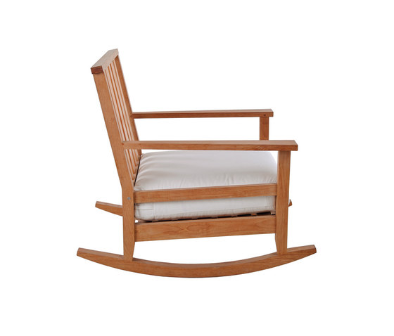 York Rocking chair by Unopiù | Garden armchairs