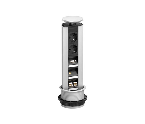 Port MULTIMEDIA PROFESSIONELL by EVOline | On-off switch sockets