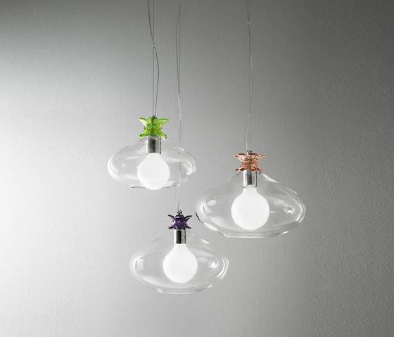 Bloom di ITALAMP   Lampada da Terra   Lampada da Tavolo -> Lampadari Moderni Trasparenti