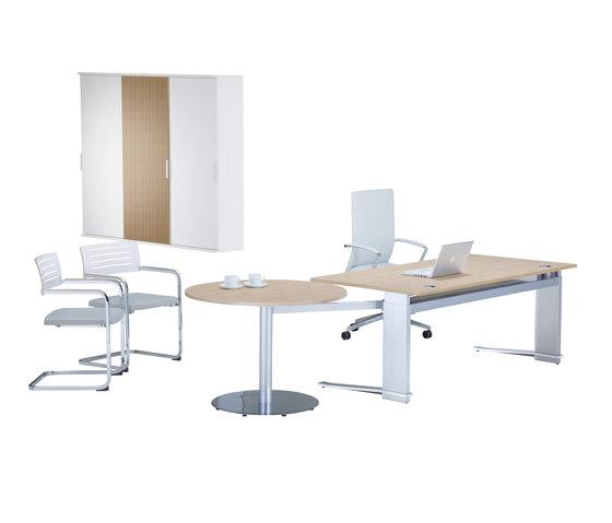 iMOVE-C Work station de LEUWICO | Tables collectivités