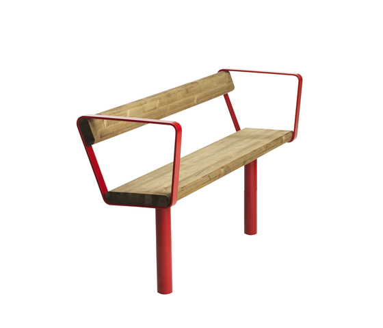 April bench by Vestre | Exterior benches