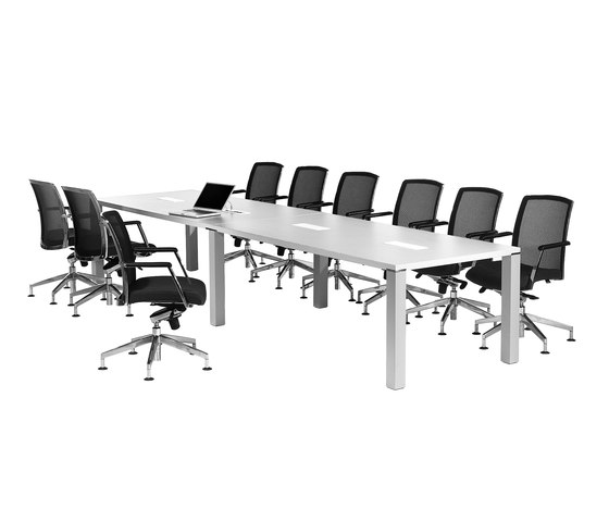 iONE Conference desk by LEUWICO | Multimedia conference tables