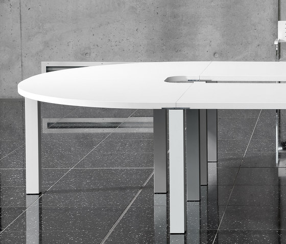 iONE Conference desk by LEUWICO | Conference tables