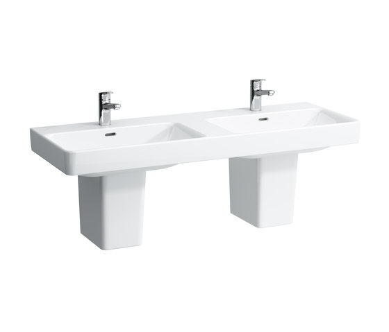 LAUFEN Pro S | Double countertop washbasin by Laufen | Wash basins