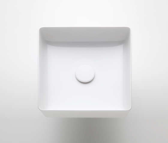 living square | Washbasin bowl by Laufen | Wash basins