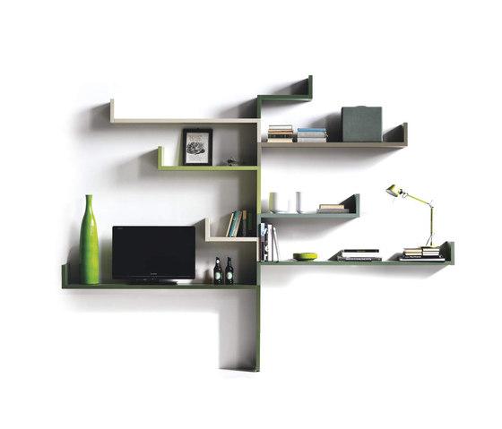 LagoLinea_shelf by LAGO | Shelving