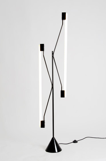 2 Tubes Floor lamp by Atelier Areti | General lighting