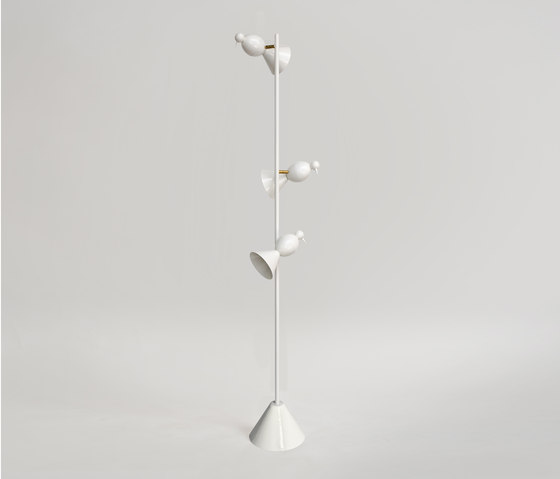 Alouette Standing lamp 3 birds by Atelier Areti | General lighting