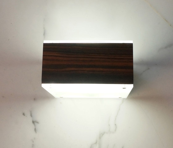 Cubo Cubetto Wood von luce² | Allgemeinbeleuchtung