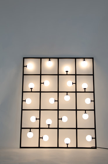 Squares Floor / Wall lamp by Atelier Areti | Free-standing lights