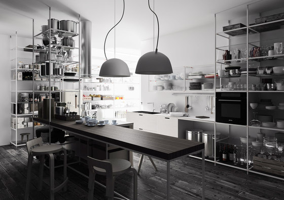 Meccanica 1 by Valcucine | Fitted kitchens