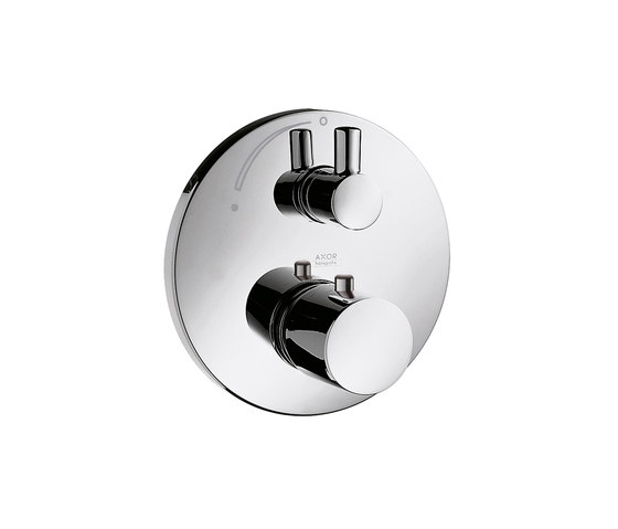 AXOR Uno Thermostatic Mixer for concealed installation with shut-off valve by AXOR | Shower taps / mixers