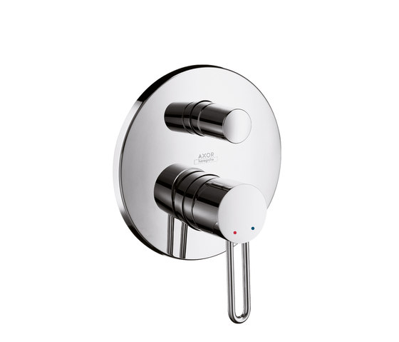 AXOR Uno Single Lever Bath Mixer for concealed installation with integrated security combination by AXOR | Bath taps