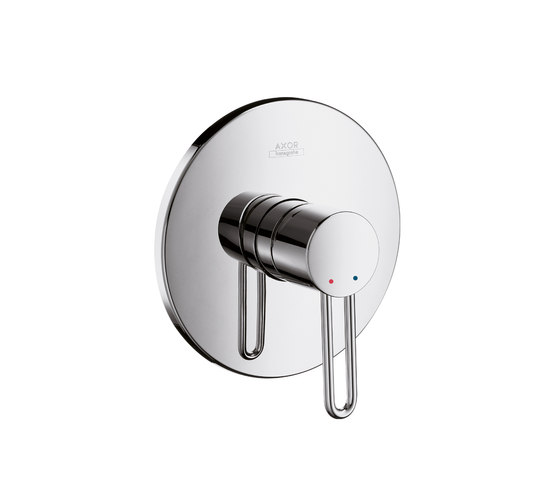 AXOR Uno Single Lever Shower Mixer for concealed installation by AXOR | Shower taps / mixers