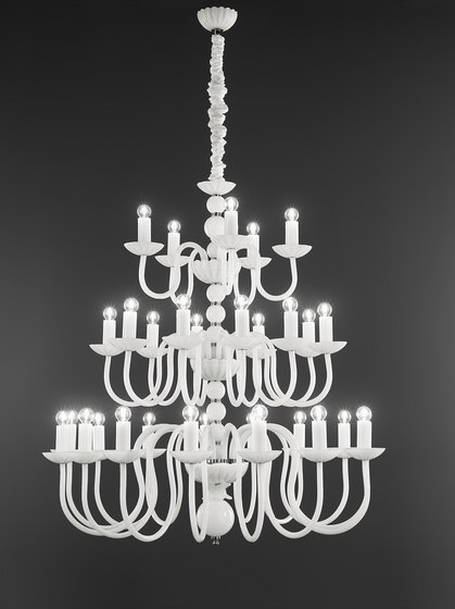 Evoque by ITALAMP | Ceiling suspended chandeliers