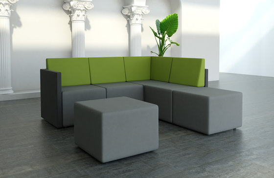 Lounge zone by MDD | Modular seating systems