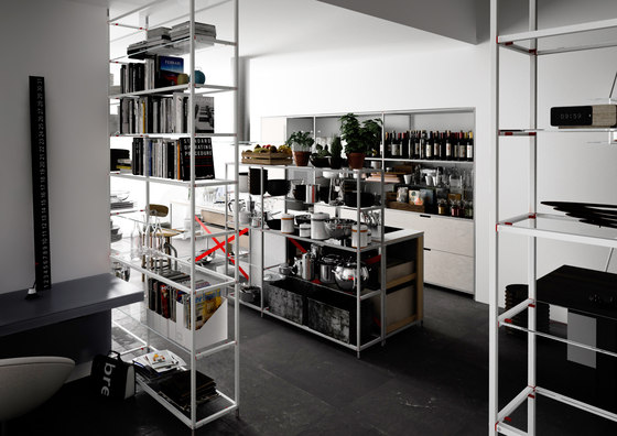 Meccanica 5 by Valcucine | Island kitchens