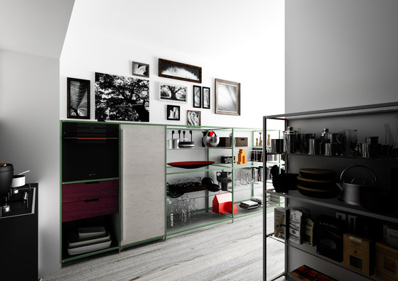 Meccanica 6 by Valcucine | Shelving