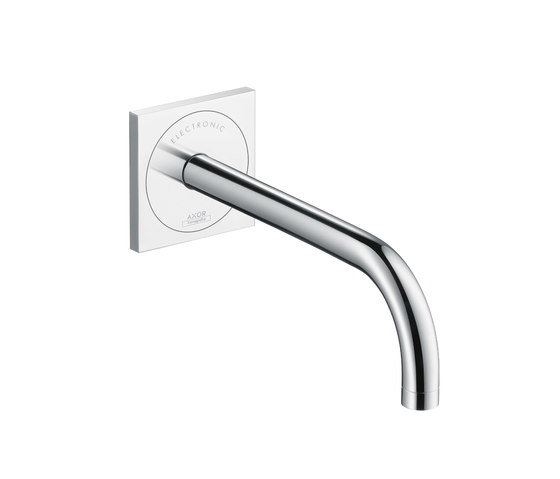 AXOR Uno Electronic Basin Mixer for concealed installation with spout 225 mm by AXOR | Wash-basin taps
