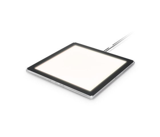 Lumiblade OLED Panel GL350 B1 / silver housing by Philips Lumiblade - OLED | OLED lights