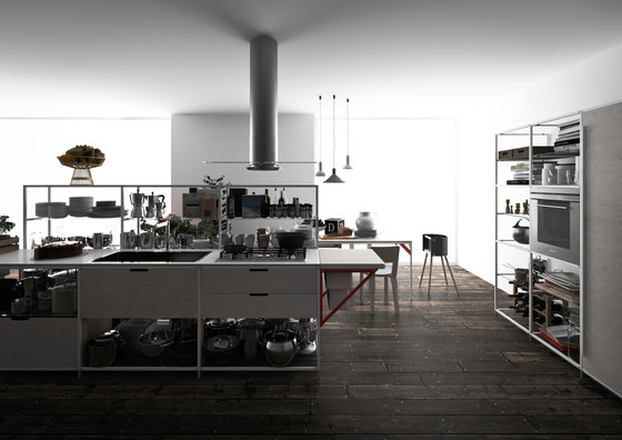 Meccanica 8 by Valcucine | Island kitchens