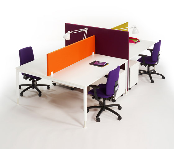 Alku four seats by Martela | Desking systems