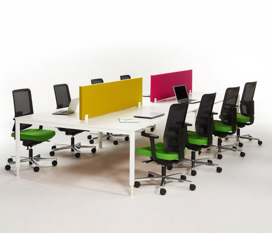 Alku eight seats by Martela | Desking systems